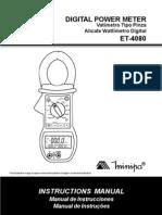 Manual ET-4080