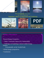 Global Energy Perspectives by Dr. H. Ramesh