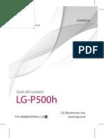 Manual LG-P500 Telefonica