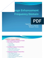 Image Enhancement Frequency Domain