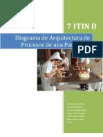 Diagrama de Arquitectura de Procesos de Una Pasteleria