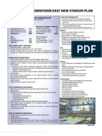 Stadium Fact Sheet, March 2012