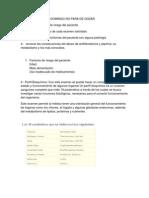 Objetivos Caso Clinico Integracion