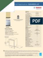 Bosch SGV45E0_UC