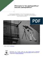 Guide pour différencier le bon Photograffeur du mauvais