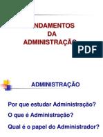 aula fundamentos da administração