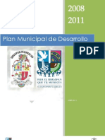 Plan Municipal de Desarrollo 2008 2011 UPN