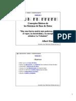 Unidad 1 - Fundamentos de Base de Datos - Sencilla