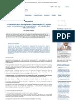 La Tecnología de la Información y la Comunicación (TIC)