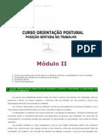 Cartilha - Curso - Orientacao Postural - Posicao Sentada - Modulo II - Word