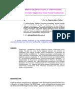 Analisis Comparativo Del Proceso Civil y Constitucional