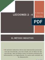 Lecciones 2 - 4_pr Robert Mayo