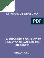 Maximas Del Derecho
