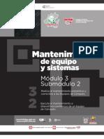 Guía profesional, Mantenimiento de Equipo y Sistemas, CECyTEH 2012
