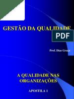 Apostila 1 - Qualidade nas Organizações