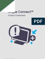 Skype Connect Product Datasheet