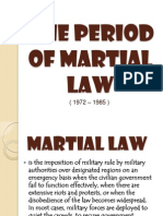 Period of Martial Law and Yellow Revolution