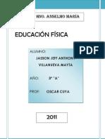 EDUCACIÓN FÍSICA TRABAJO TERMINADO