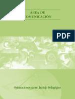 Orientaciones para el Trabajo Pedagógico Área Comunicación