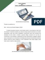 ED 2 Comunicação e Expressão Texto Teórico