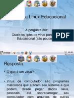 Vírus para Linux Educacional
