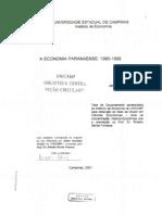 Trintin,JaimeGraciano - A economia Paranaense 1985 - 1992