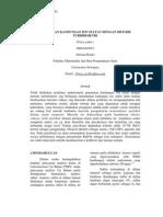 Frisca Penentuan Kandungan Ion Sulfat Dengan Metode Turbidimetri Pratukm Jurnal
