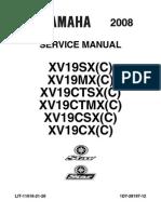 08 Yamaha Raider SVC Manual