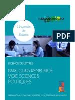 Plaquette Parcours Renforcé Sciences Po