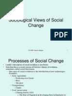 201 Sociological Views of Social Change