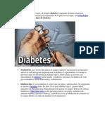 Os Tipos de Diabetes Son Varios