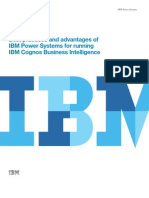 Best Practices and Advantages of IBM Power Systems for Running IBM Cognos Business Intelligence