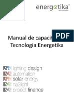 Manual de capacitación tecnologías Energetika