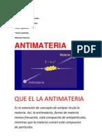 Presentacion de Amtimateria en Word
