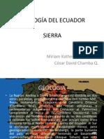 GEOLOGÍA DEL ECUADOR