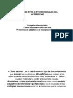 CLIMA SOCIORRELACIONAL