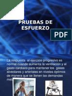 PRUEBAS DE ESFUERZO
