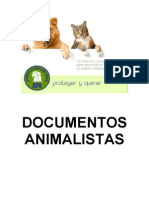 Compendio de Documentos Animalistas