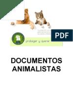Compendio de Documentos Animalistas