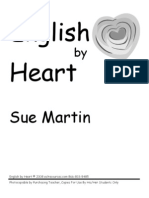 English by Heart  by Sue Martin - sample pages