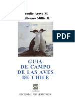 Guía de Campo de las Aves de Chile - B. Araya, G. Millie (Editorial Universitaria, 1992)