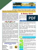 Newsletter 22.03.12