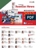 Mediadaten - Computer Reseller News 2012