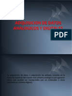 Adquisicion de Datos Analogicos y Digitales