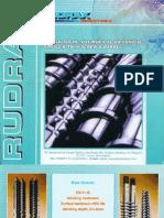 Rudrax Industries - single and twin screw barrel