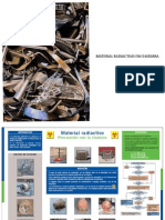 Material Radiactivo en Chatarra
