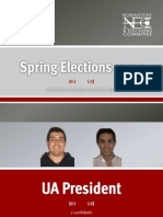 Penn Student Government - Spring 2012 Candidates