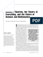 Goedel's Theorem