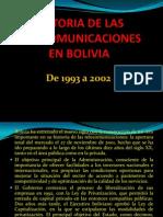 Historia de Las Telecomunicaciones en Bolivia Parte 2