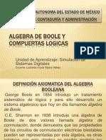 Algebra de Boole y Compuertas Logicas